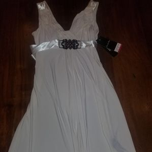 NWT Scarlett Nite white A line dress